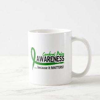Parálisis cerebral de la conciencia 2 tazas de café