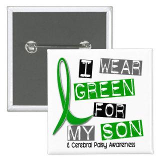 Parálisis cerebral llevo el verde para mi hijo 37 pins
