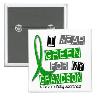 Parálisis cerebral llevo el verde para mi nieto 37 pin cuadrado