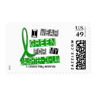 Parálisis cerebral llevo el verde para mi nuera franqueo