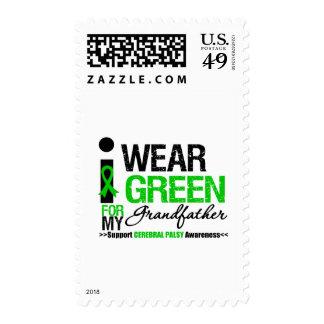 Parálisis cerebral llevo la cinta verde para el franqueo
