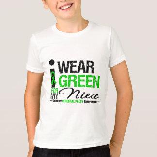 Parálisis cerebral llevo la cinta verde para mi playera