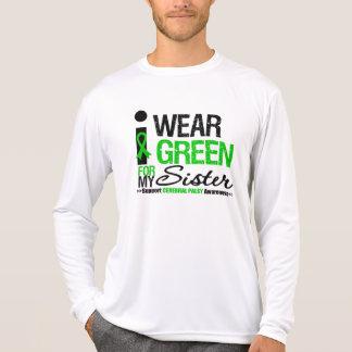 Parálisis cerebral llevo la cinta verde para mi camisetas