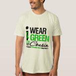 Parálisis cerebral llevo la cinta verde para mi playeras