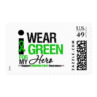 Parálisis cerebral llevo la cinta verde para mi franqueo