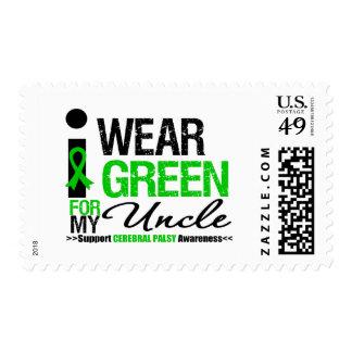 Parálisis cerebral llevo la cinta verde para mi sello