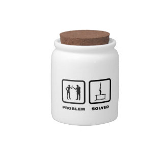 Parallel Bars Candy Jar