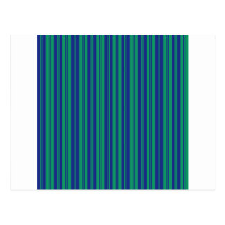 parallel lines abstract pattern green blue stripes postcard