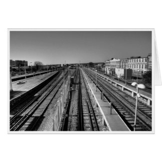 Parallel Lines Card