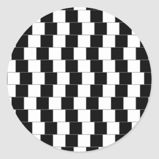 Parallel Lines Classic Round Sticker