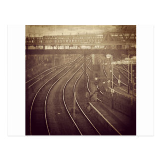 Parallel Lines Postcard