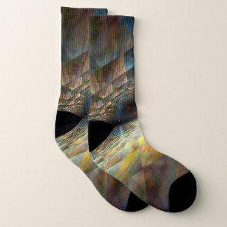 Parallel Planes Socks