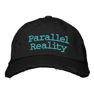 Parallel Reality Embroidered Baseball Hat
