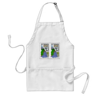 PARALLEL Stereo view of NSA/ISU 07 Logo Aprons