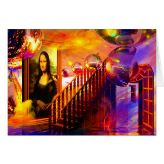 Parallel universe greeting card