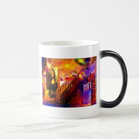 Parallel universe magic mug