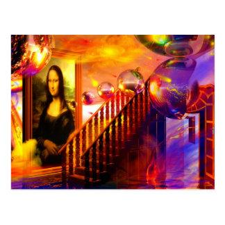 Parallel universe postcards
