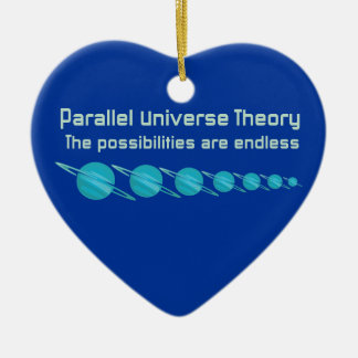 Parallel Universe Theory Ceramic Ornament