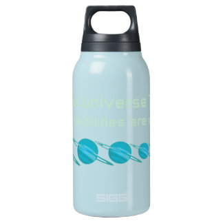 Parallel Universe Theory Insulated Water Bottle