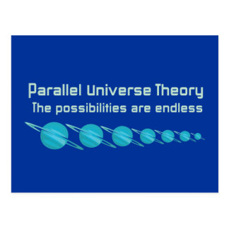 Parallel Universe Theory Postcard