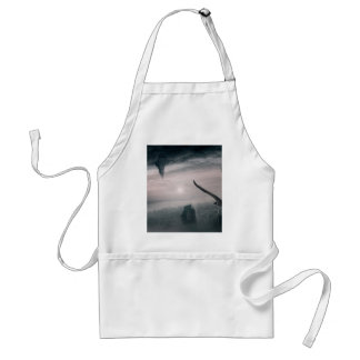 Parallel Worlds Collide Adult Apron