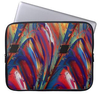 Parallelogram Cool Abstract Fine Art Fractal Laptop Computer Sleeve