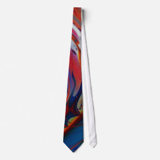 Parallelogram Cool Abstract Fine Art Fractal Tie