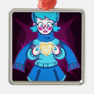 Paralyzed Metal Ornament