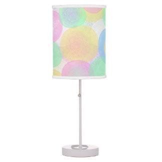 Paramecium Dots Pastel Lamp