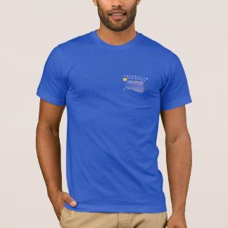 Paramecium Paradise Left Chest T-Shirt