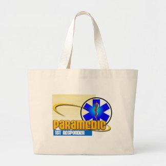 Paramedic 1st Responder Large Tote Bag