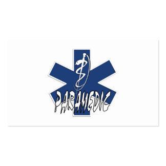 Paramedic Action Business Card Templates