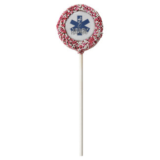 Paramedic Action Chocolate Covered Oreo Pop