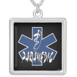 Paramedic Action Custom Necklace