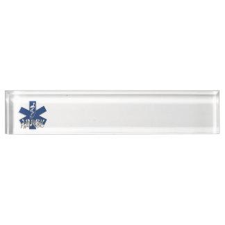 Paramedic Action Desk Nameplate