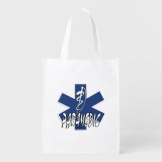 Paramedic Action Grocery Bags