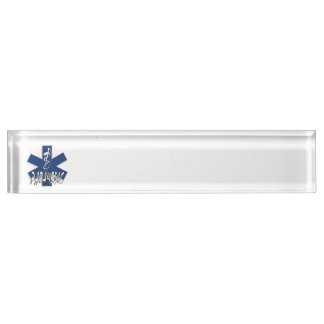 Paramedic Action Name Plate