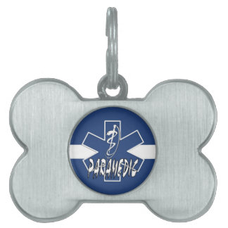 Paramedic Action Pet ID Tags