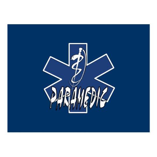 Paramedic Action Postcard