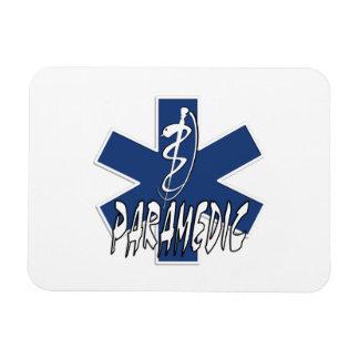 Paramedic Action Rectangular Photo Magnet