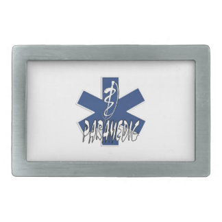 Paramedic Action Rectangular Belt Buckle