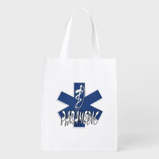 Paramedic Action Reusable Grocery Bags