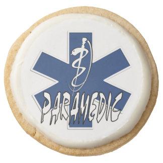 Paramedic Action Round Premium Shortbread Cookie