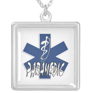 Paramedic Action Silver Plated Necklace