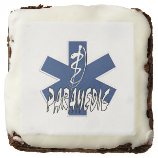 Paramedic Action Square Brownie