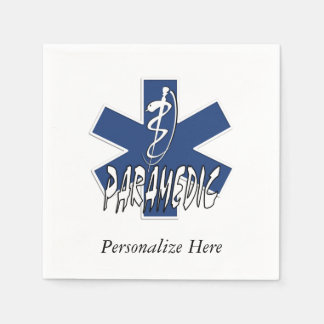 Paramedic Action Standard Cocktail Napkin