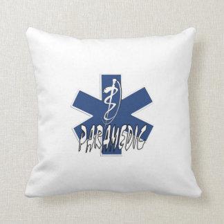 Paramedic Action Throw Pillows