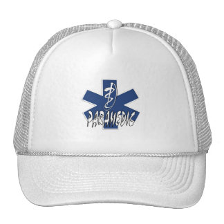Paramedic Action Trucker Hats