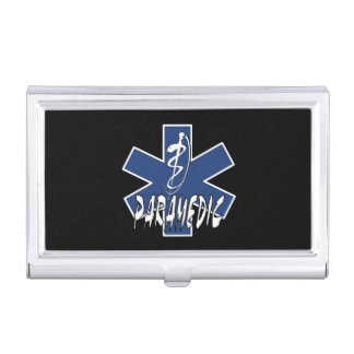 Paramedic Active Star Business Card Case