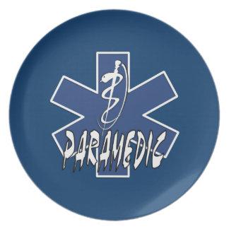 Paramedic Active Star Of Life Plates